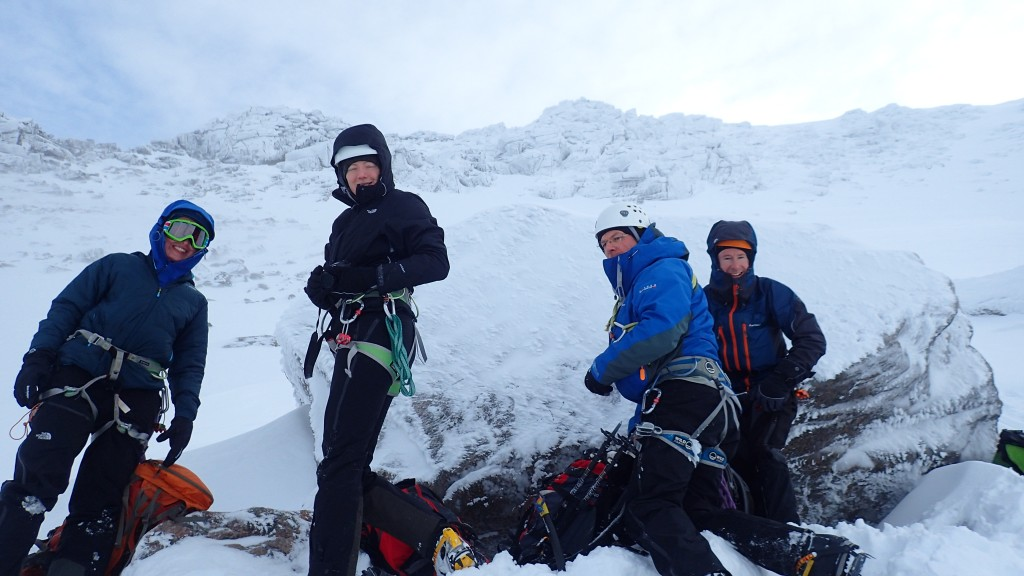 Glenmore lodge winter mountaineering course