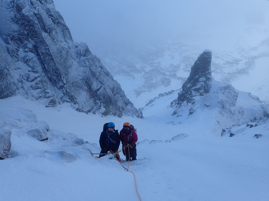 Back in Aladdins Couloir