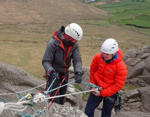 Rock climbing instructor award