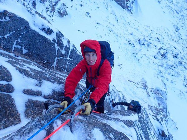 Intro to winter climbing