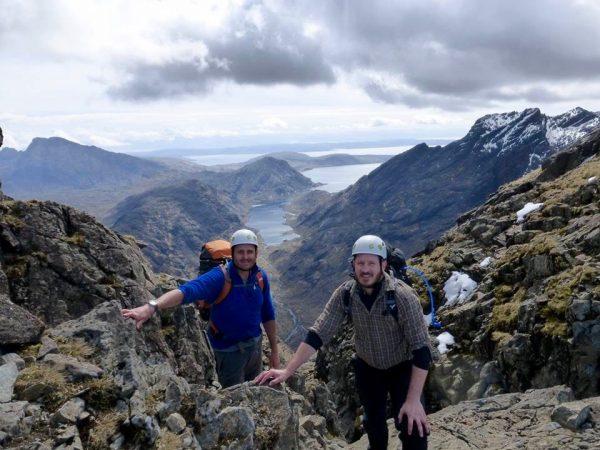 Skye mountaineering