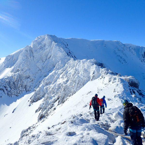 Winter mountaineering wek